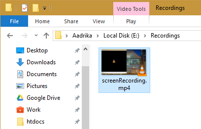 How to Record Screen with VLC in Windows 10