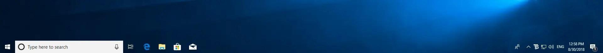 Transparent taskbar transparent taskbar
