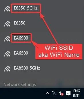 Wifi list