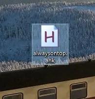Keep window always on top 02
