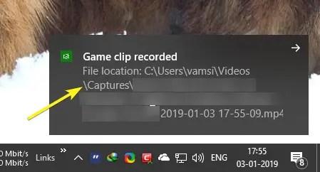 Record screen on windows 10 image 06
