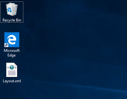 Backup restore start menu layout 02