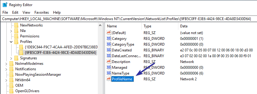 Change windows 10 network name 09