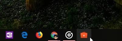 Pin folder to taskbar 15