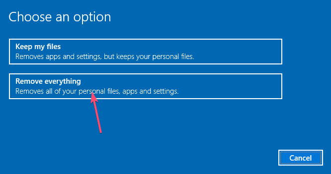 How to Refresh or Reset PC From Command Prompt on Windows 10