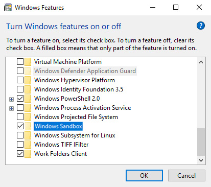 Windows 10 enable sandbox 04