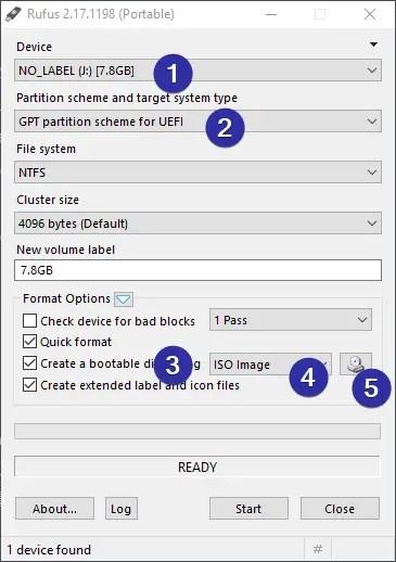 How to Create UEFI Bootable Windows 10 USB Drive Installer