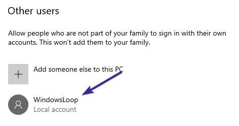 Delete user account windows 10 02