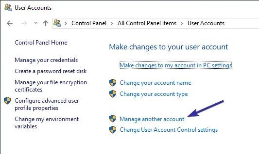 Delete user account windows 10 06