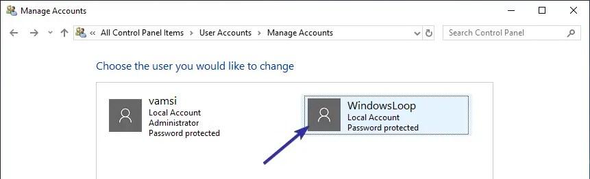 Delete user account windows 10 07