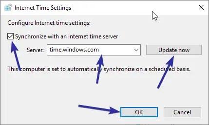 Fix windows wrong time 06