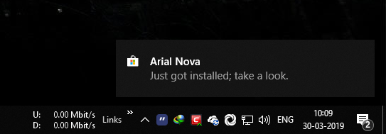 Install fonts in windows 10 05