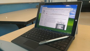 Surface pro 3 with stylus and touch screen