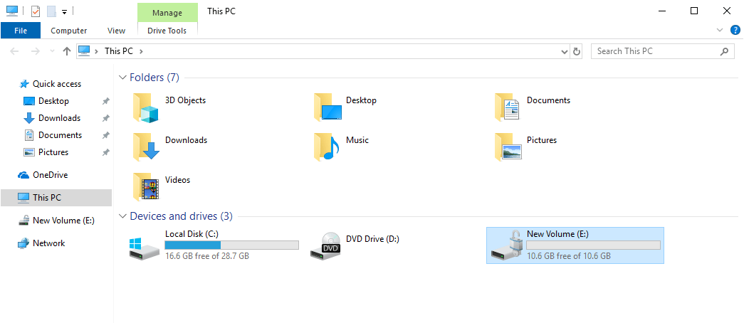 Win10 lock folder with password 28