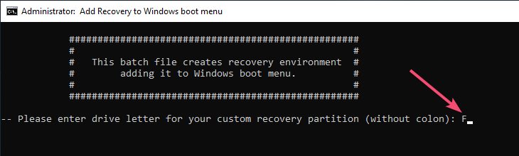 Windows 10 create recovery partition 18