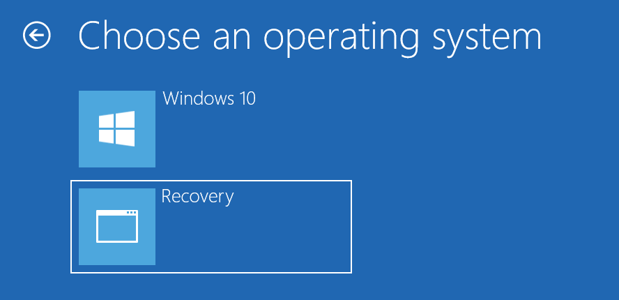 Windows 10 create recovery partition 20