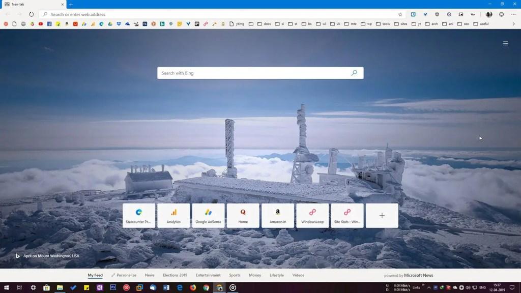 Chromium edge browser