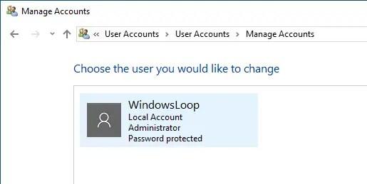 Rename windows user account 03