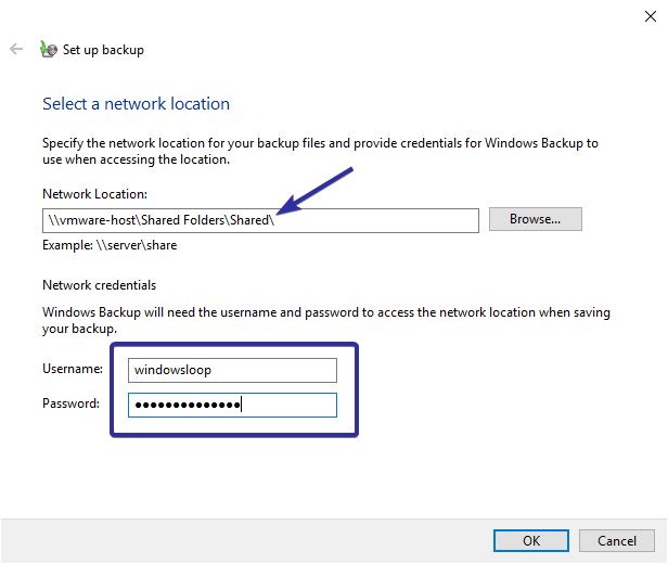 Windows 10 backup to network drive 06