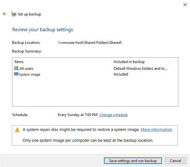 Windows 10 backup to network drive 09