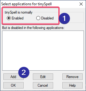 Wordpad spell check 11