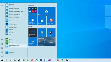 Add application to start menu step featured image