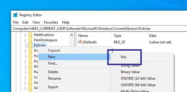 Disable windows 10 pc settings app 08