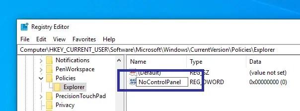 Disable windows 10 pc settings app 11
