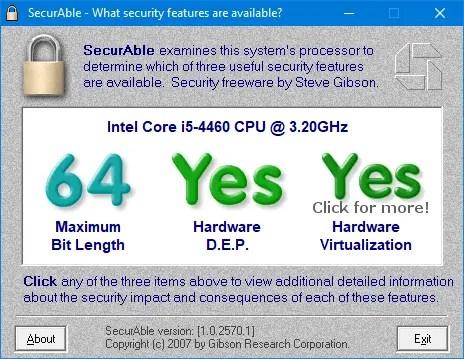 Find 32bit or 64bit 10