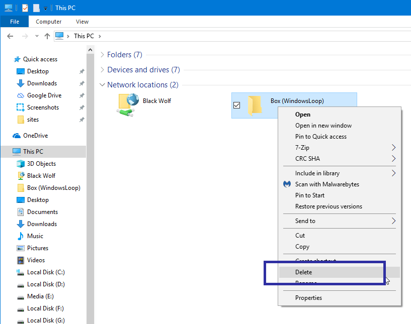 Map webdav drive in windows 11