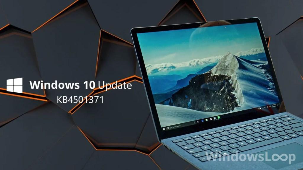 Kb4501371 update