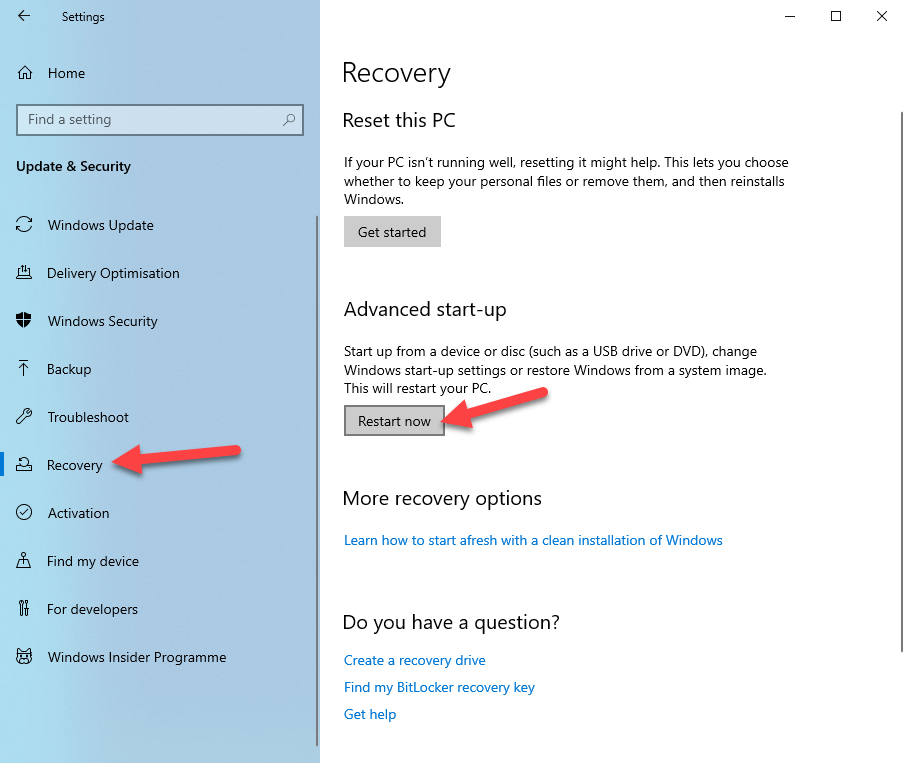 Windows 10 safe mode 02