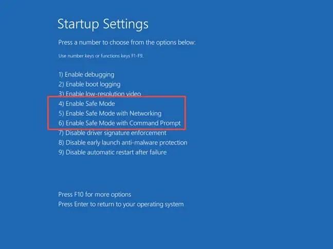 Windows 10 safe mode 07