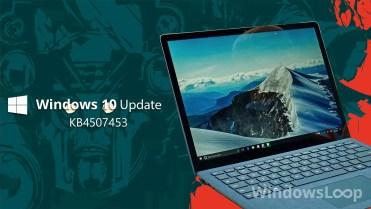 Kb4507453 update
