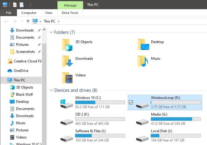 Windows 10 format in fat32 - 01