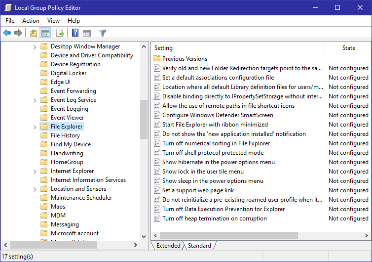 Windows 10 start menu sleep option - 09 - go to folder
