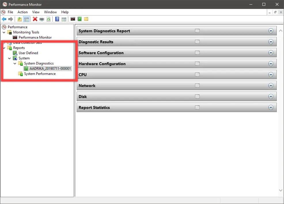 Windows 10 windows experience index score - open diagnostics