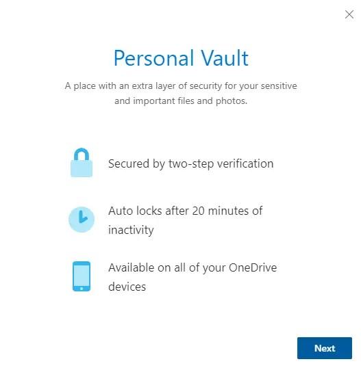 Onedrive-personal-vault-click-next