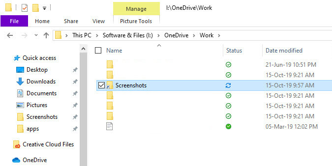 Sync-any-folder-with-onedrive-folder-synced