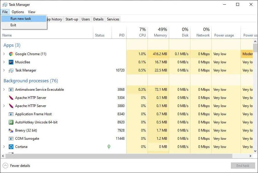 Task-manager-file-fxplorer-command-select-run-new-task-option