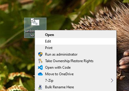 Windows-sandbox-in-home-edition-select-edit