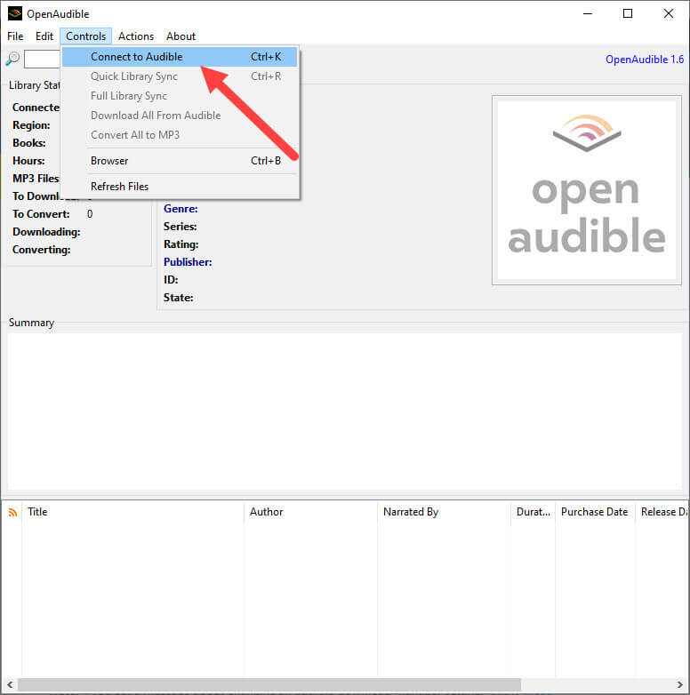 Convert-audible-audiobook-to-mp3-connect-to-audible