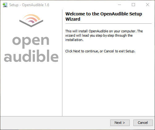 Convert-audible-audiobook-to-mp3-install-open-audible
