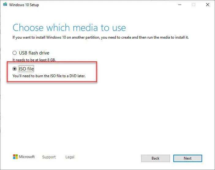 Download-windows-10-v1909-iso-select-iso-file-option