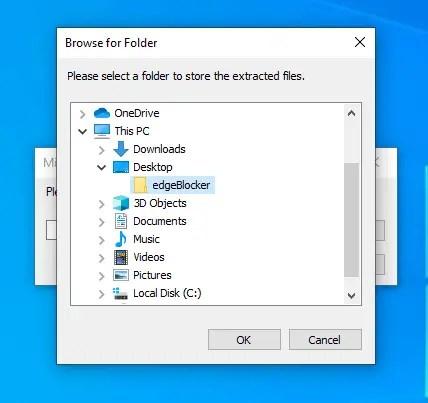 Block-edge-automatic-installation-select-folder-1