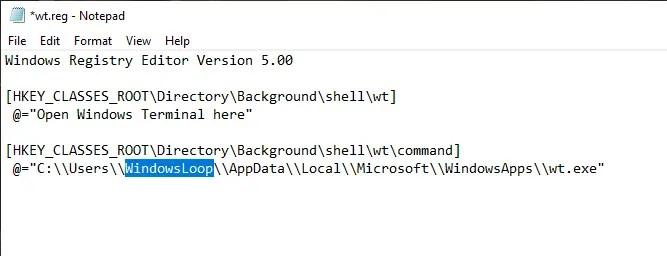 Open-windows-terminal-here-windows-add-reg-code-to-file