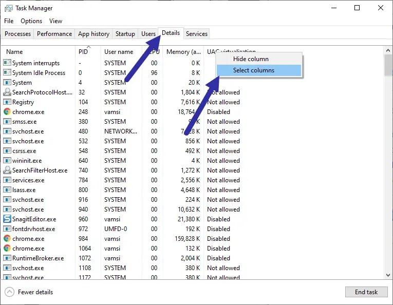 Application-32-bit-or-64-bit-select-column