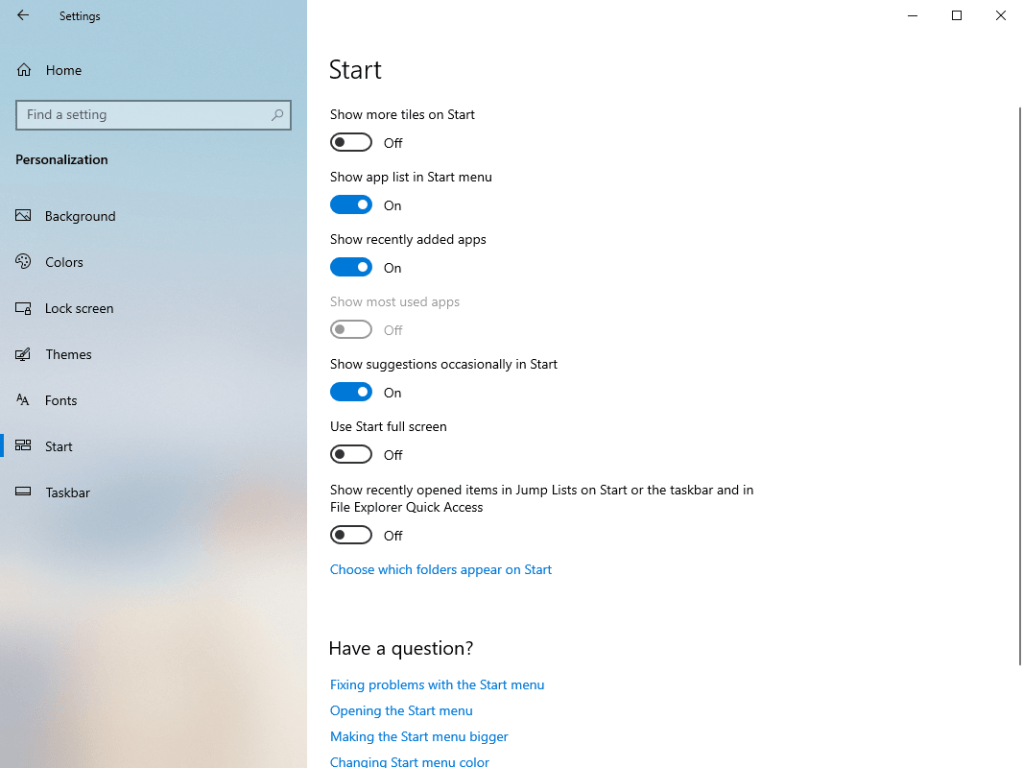Disable-recent-items-frequent-places-settings