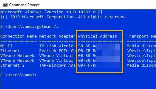 Windows-10-mac-address-getmac-cmd