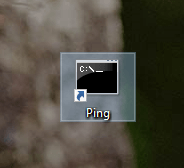 Command-prompt-command-desktop-shortcut-created